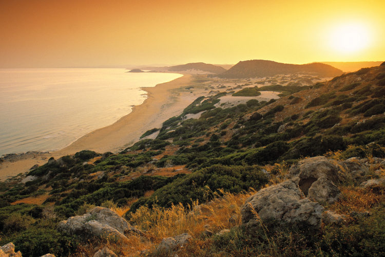 Golden Beach Karpas Peninsula Cyprus